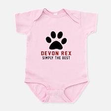 Devon Rex Simply The Best Cat Desi Infant Bodysuit