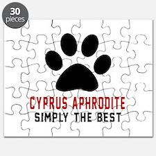 Cyprus Aphrodite Simply The Best Cat Design Puzzle
