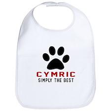 Cymric Simply The Best Cat Designs Bib