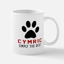 Cymric Simply The Best Cat Designs Mug