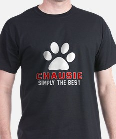 Chausie Simply The Best Cat Designs T-Shirt