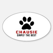 Chausie Simply The Best Cat Designs Decal