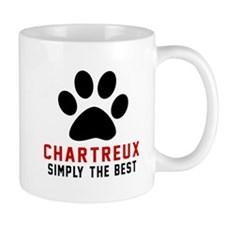 Chartreux Simply The Best Cat Designs Small Mug