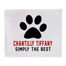 Chantilly Tiffany Simply The Best Ca Throw Blanket