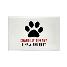 Chantilly Tiffany Simply The Best Rectangle Magnet