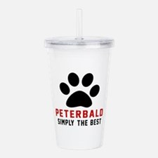 Peterbald Simply The B Acrylic Double-wall Tumbler