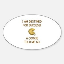 I AM DESTINED FOR SUCCESS.. Decal