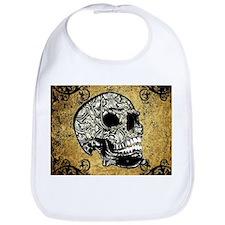Sugar skull Bib