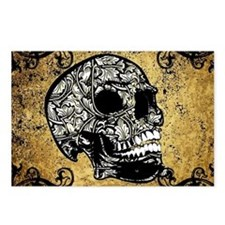 Sugar skull Postcards (Package of 8)