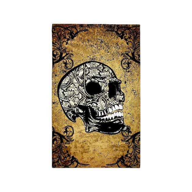 Skull Area Rugs: Sugar Skull Area Rug By Fantasyworld8