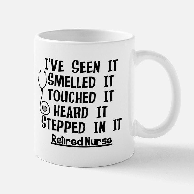 Nurse Retirement Quotes Mugs
