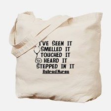 Nurse Retirement Quotes Tote Bag