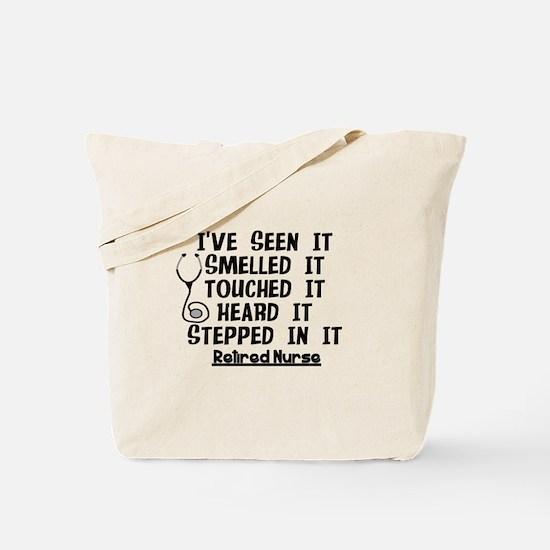 Nurse Retirement Quotes Tote Bag