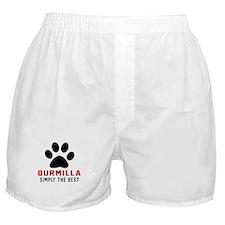 Burmilla Simply The Best Cat Designs Boxer Shorts