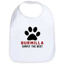 Burmilla Simply The Best Cat Designs Bib