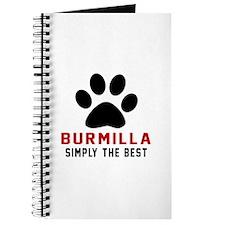 Burmilla Simply The Best Cat Designs Journal