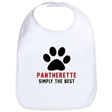 Pantherette Simply The Best Cat Designs Bib