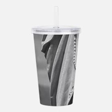 Hands That Pray Acrylic Double-wall Tumbler