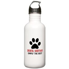 Oriental Shorthair Sim Sports Water Bottle