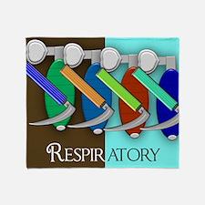 Respiratory Throw Blanket