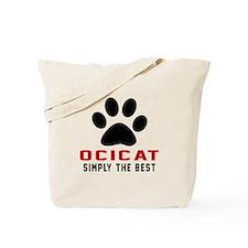 Ocicat Simply The Best Cat Designs Tote Bag