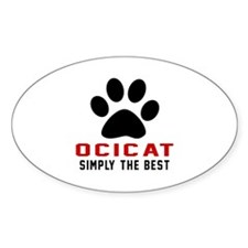 Ocicat Simply The Best Cat Designs Decal