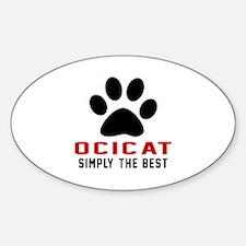 Ocicat Simply The Best Cat Designs Decal