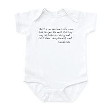 Isaiah 35:12 Infant Bodysuit