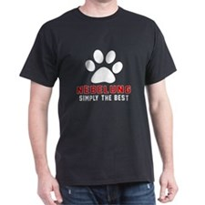 Nebelung Simply The Best Cat Designs T-Shirt