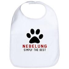 Nebelung Simply The Best Cat Designs Bib