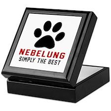 Nebelung Simply The Best Cat Designs Keepsake Box