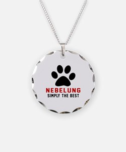 Nebelung Simply The Best Cat Necklace