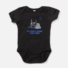 Cool Peterbilt Baby Bodysuit