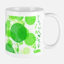 Bubbles Green Mugs