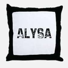 Alysa Throw Pillow