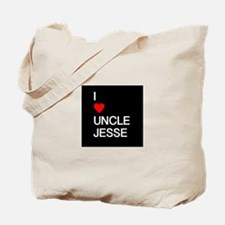 I Heart Uncle Jesse Tote Bag