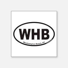 "Cute Westhampton Square Sticker 3"" x 3"""