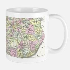Vintage Map of Kentucky (1850) Mugs