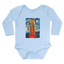 Cute Cross fit kettlebell Long Sleeve Infant Bodysuit
