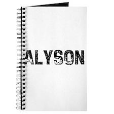 Alyson Journal
