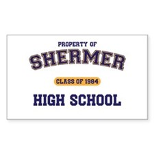 Unique Shermer high Decal