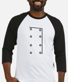 Chef Buttons Jacket Baseball Jersey