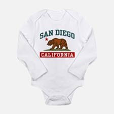 Made california Long Sleeve Infant Bodysuit