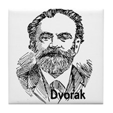 Antonin Dvorak Tile Coaster