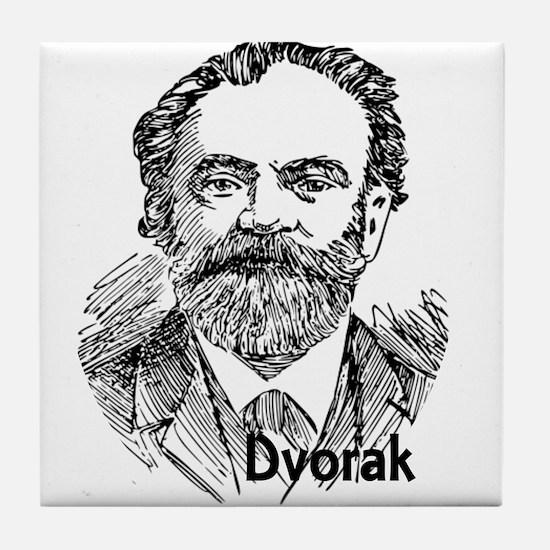 Antonin Dvorak Tile Coaster