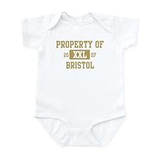 Property of Bristol Infant Bodysuit