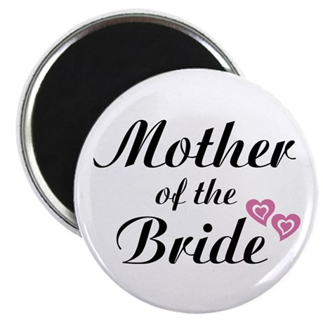 """Mother of the Bride 2.25"""" Magnet (100 pack)"""