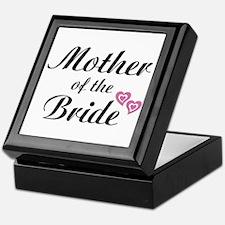 Mother of the Bride Keepsake Box