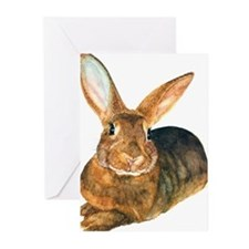 Unique Rabbit art Greeting Cards (Pk of 10)