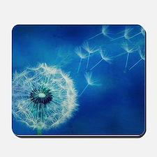 Dandelions in the Blue Mousepad